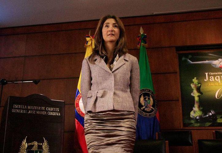 Íngrid Betancourt, excandidata presidencial de Colombia, quien fue secuestrada en 2002, se dedica ahora a dar conferencias y a escribir. Vive alternativamente entre París, Nueva York y Oxford. (Efe)