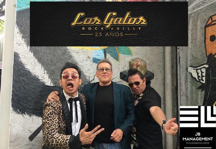 Los Gatos Rockabilly, Eddie y los Grasosos, Zombie Kats, Bad Rockers son algunas de las bandas que se presentarán en el Rockabilly Fest. (Foto: Redacción/SIPSE)
