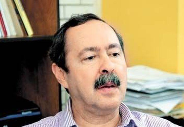 Mario Agustín Altamirano, científico de la FES Zaragoza. (Milenio)