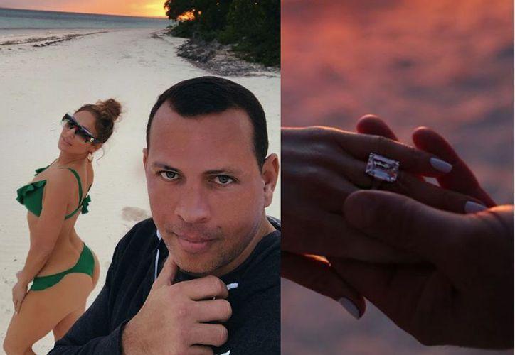 La pareja compartió imágenes de su reciente compromiso. (El Diario)