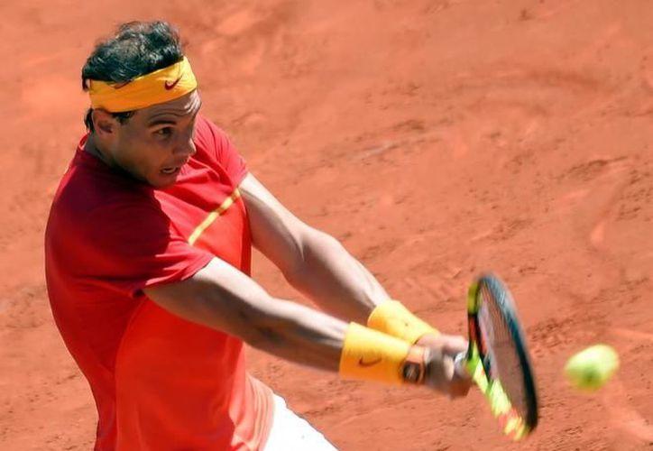 Rafael Nadal comenzó sus entrenamientos para participar en el Masters 1000 de Montecarlo. (AFP)