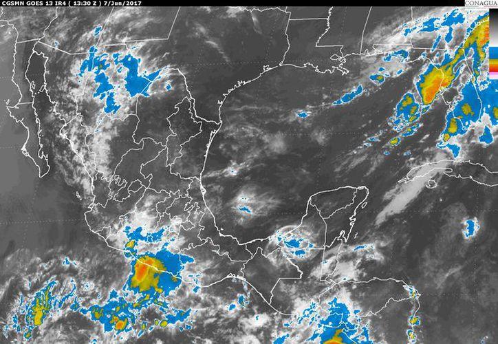 Para hoy se esperan la formación de tormentas por la tarde en Chetumal. (Conagua)