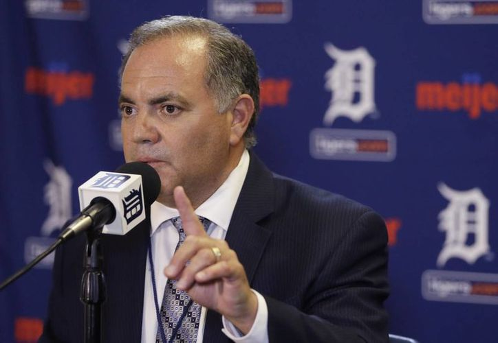 Dave Dombrowski fue despedido como presidente y gerente general de los Tigres de Detroit. (AP)