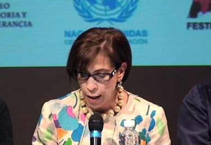 Consuelo Olvera Treviño, funcionaria de la CNDH, se reflexionará sobre papel de las Instituciones para la Promoción y Protección de los Derechos Humanos. (Milenio Novedades)