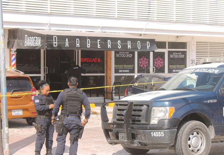 El último ataque a una barbería ocurrió el pasado 23 de abril. (Redacción/SIPSE)