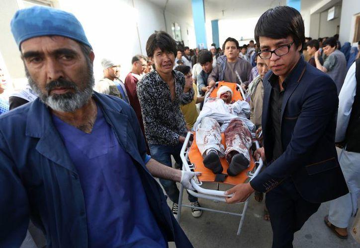 El Estado Islámico se atribuyó inmediatamente el atentado de este sábado que mató a más de 60 personas en Afganistán. (AP)