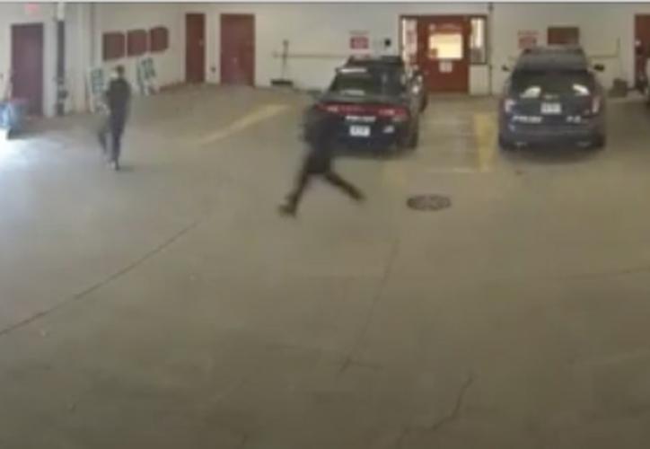 El 'fugitivo' no corrió con tanta suerte pues fue capturado al otro día de su escape. (Foto: Captura de pantalla).