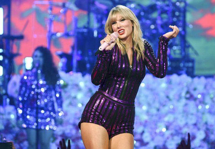 En esta fotografía el 10 de julio de 2019 Taylor Swift durante su presentación en el Amazon Music's Prime Day en Nueva York. (Foto Evan Agostini/Invision/AP, archivo)