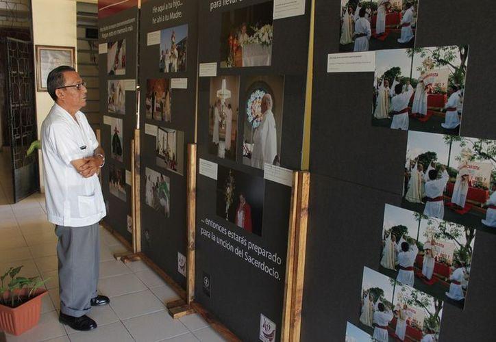 La exposición está abierta desde las ocho de la mañana a las siete de la noche a partir de ayer y hasta el 12 de enero. (Francisco Sansores/SIPSE)