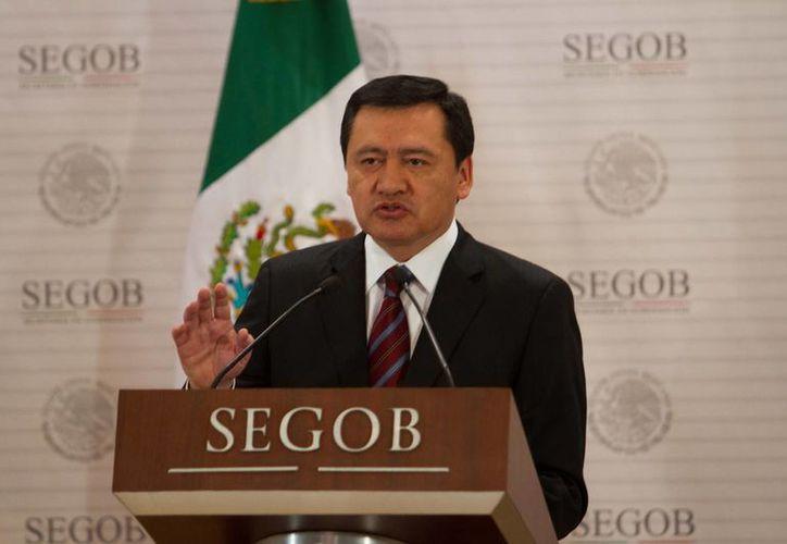 Osorio Chong asegura que las cifras del crimen han disminuído. (Archivo/Notimex)