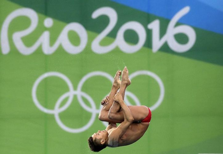 Germán Sánchez ganó la medalla de plata en plataforma de 10 metros, en Juegos Olímpicos de Ríos 2016.