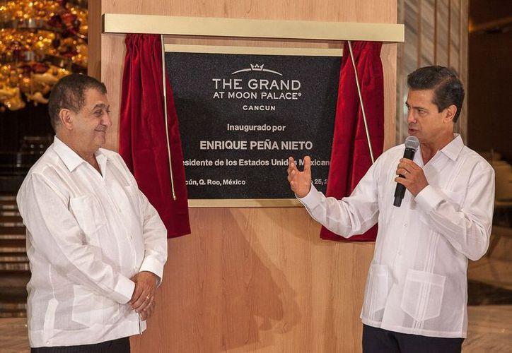 El presidente de México inauguró el centro de hospedaje. (Cortesía)