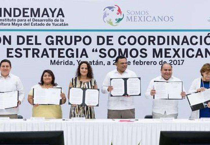 Yucatán reforzará presencia de traductores en lengua maya para apoyar y defender legalmente a migrantes yucatecos en Estados Unidos.  (Fotos cortesía del Gobierno)