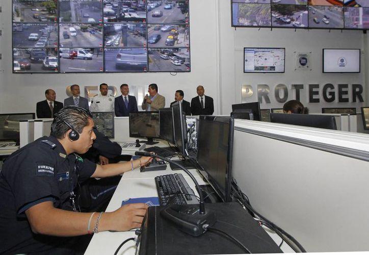 En la imagen, el Centro de Emergencias y Respuesta Inmediata de la ciudad de Puebla. (Archivo Notimex)