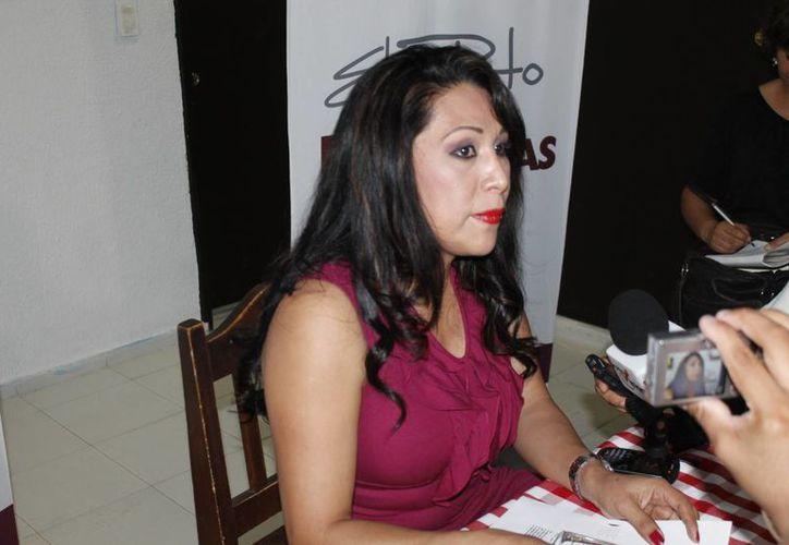 Gabriela Delgado Tiempo reelecta por unanimidad por los socios en la Canirac. (Jesús Tijerina/SIPSE)