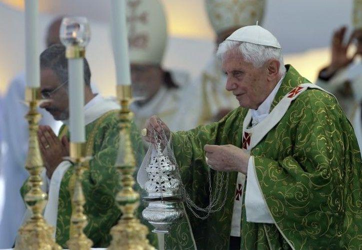 """A los jóvenes corresponde evangelizar el """"continente digital"""", expresó el Papa. (Archivo Agencias)"""