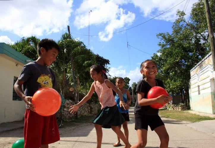 Este es el sexto año en que Grupo SIPSE realiza el programa 24x24 que consiste en entregar juguetes a niños en comunidades marginadas de Yucatán. (Milenio Novedades)