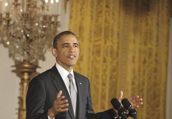 El mandatario estadounidense solicitó más de tres mil millones de dólares para responder a la crisis migratoria. (Archivo/Notimex)