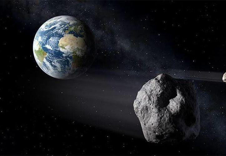 El asteroide LK24 fue descubierto por el astrónomo ruso Leonid Elenin. Imagen ilustrativa. (NASA)