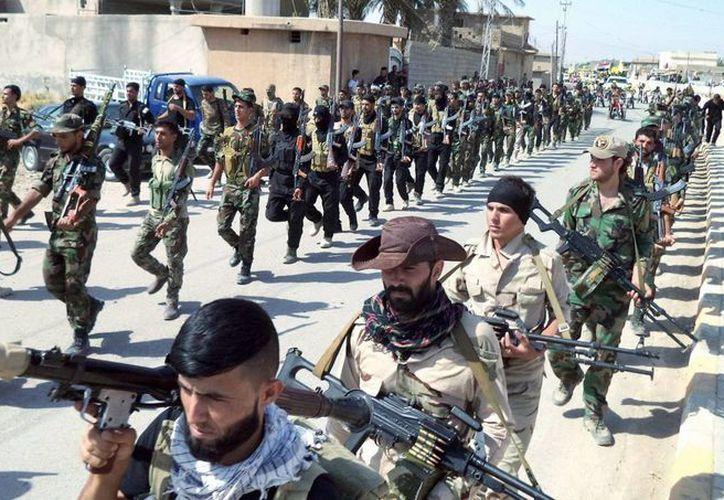 Irak cuenta con el apoyo militar de otros países para hacer frente al Estado Islámico. (EFE)