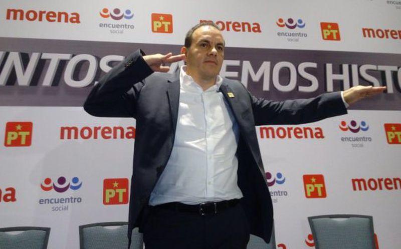 Aseguró que trabajará para sacar adelante a Morelos. (Forbes México)