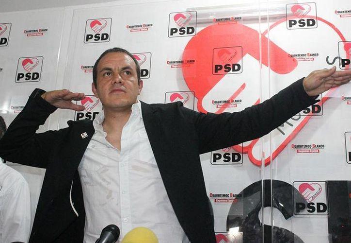 Descartan cualquier atentado con arma de fuego en contra de Cuauhtémoc Blanco Bravo, virtual alcalde de Cuernavaca. (@CuauhtemocBPSD)