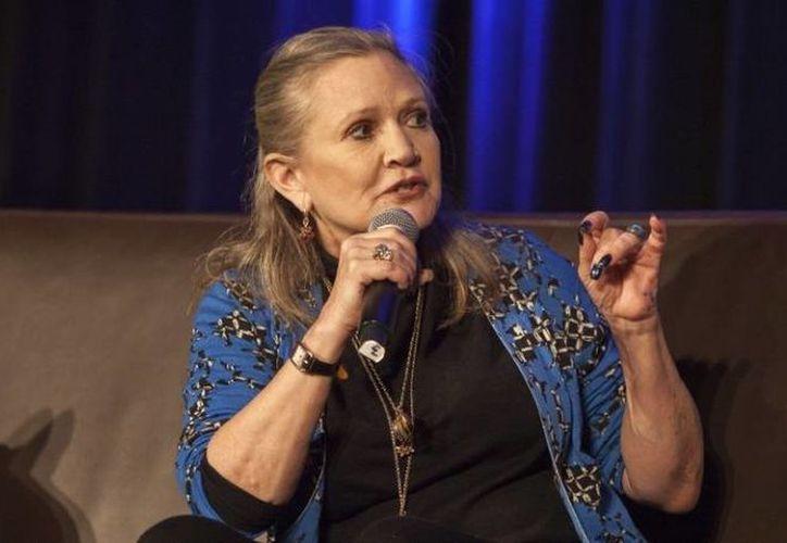 La actriz Carrie Fisher saltó a la fama como la princesa Leia de 'Star Wars' en la trilogía original de ciencia ficción de George Lucas. (Archivo/ AP)