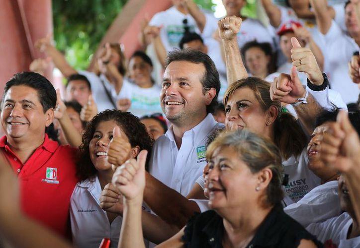 """""""Como presidente municipal, visitaré cada 15 días las diferentes colonias para atender personalmente a la gente"""". (Redacción/SIPSE)"""