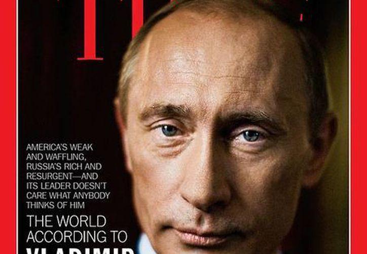 A Putin 'no le importa lo que piensen de él', publica 'Time' en su portada. (time.com)