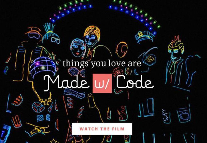 'Made With Code' organizará eventos para invitar a niñas a programar códigos que sirven para impresiones y diseño de accesorios. (Captura de pantalla/www.madewithcode.com)