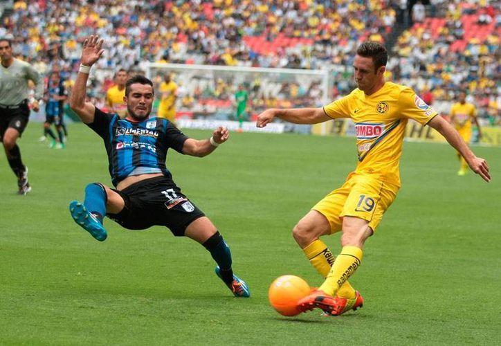 América sigue sin convencer y sin ganar en casa; el asunto se complica porque la próxima semana tendrá que ganarle al segundo mejor equipo del torneo Clausura 2014: Toluca. (NTX)