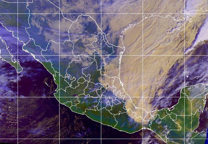 El frente frío 30 ocasionará fuerte descenso de temperatura en Yucatán. (Conagua)