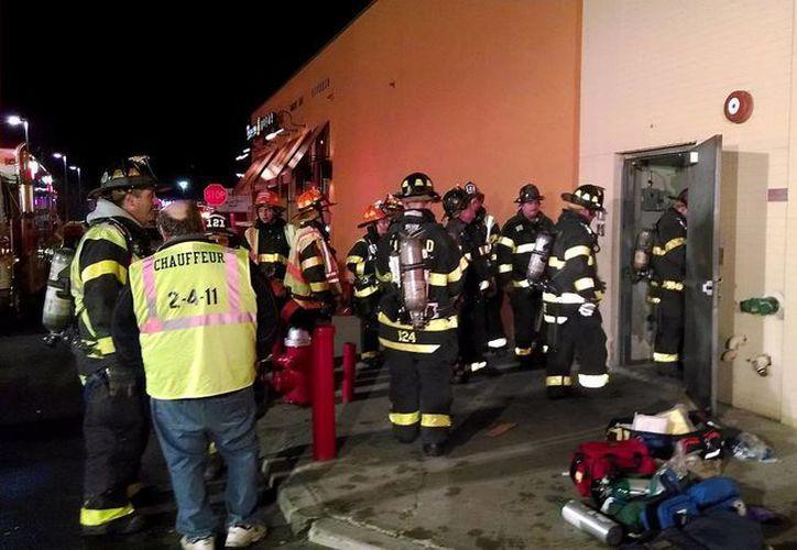 La fuga de gas en el restaurante Legal Sea Foods pudo producirse por una falla en la calefacción. (Agencias)
