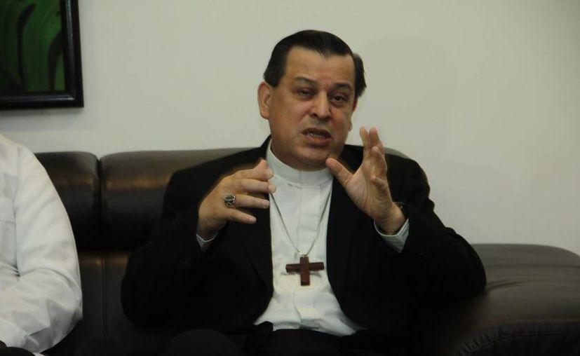 Monseñor Gustavo Rodríguez Vega comenzará oficialmente este miércoles sus labores como nuevo Arzobispo de Yucatán. (Jorge Acosta/SIPSE)