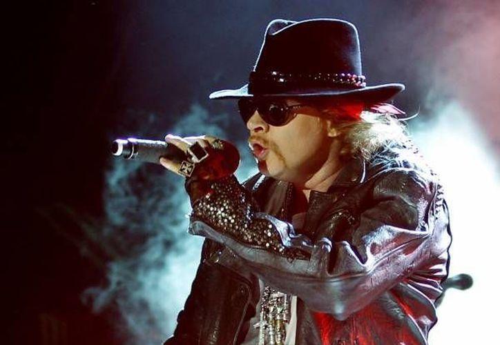 El cantante se encuentra de gira con  Guns N' Roses tras estar 23 años sin actividad. (AP)