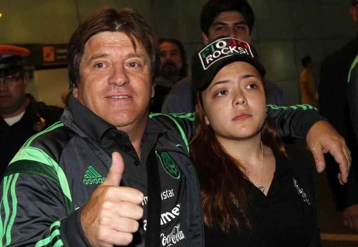 Según el Consejo de Dueños de la Federación Mexicana de Futbol, la ratificación del 'Piojo' es para mantener el proceso formativo del Tri hasta el Mundial de Rusia 2018. (Archivo Notimex)