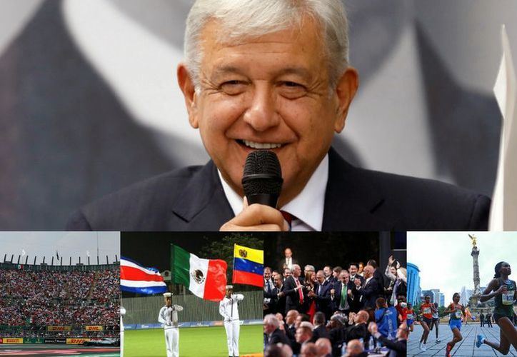 El Plan de Austeridad de Andrés Manuel López Obrador pone en riesgo algunos eventos deportivos en México. (Milenio)