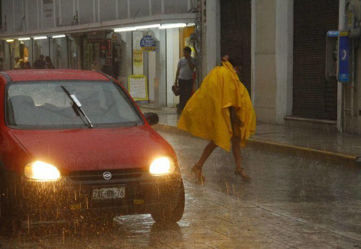 Sobre la Península de Yucatán se prolongarán las lluvias vespertinas en los siguientes días. (Archivo/ Milenio Novedades)