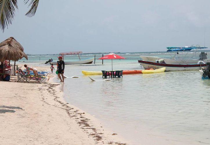 El sur del estado logro posicionarse como destino turístico en el evento celebrado en Cancún. (Claudia Martín/SIPSE)