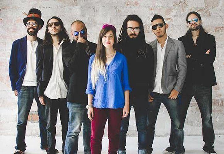 Fiusha, banda mexicana de funk, se presentará en el  Oasis Jazz U Festival y en otros escenarios de Cancún. (Cortesía/Facebook)