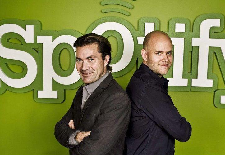 Fotografía facilitada por Spotify de los creadores del servicio de música online Spotify, compañía de origen sueco. (EFE/Archivo)