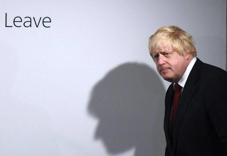 El exalcalde de Londres Boris Johnson,sería uno de los candidatos a primer ministro en Reino Unido. (AP)