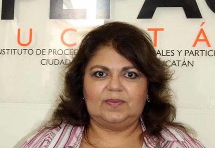 Maria Elena Achach Asaf, titular IPEPAC. (Milenio)