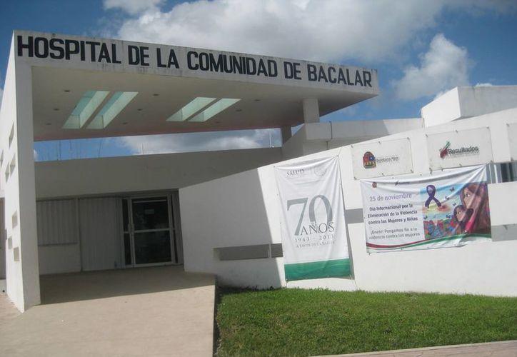 El municipio de Bacalar cuenta con 29 unidades médicas, de las cuales 28 son rurales y una es urbana. (Javier Ortíz/SIPSE)
