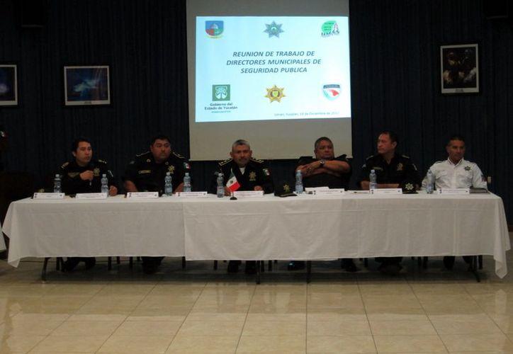 En el marco de la reunión de los Centros Integrales de Seguridad Pública. (Milenio Novedades)