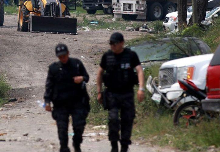 Cuatro presuntos delincuentes fueron abatidos por elementos de la Policía Estatal de Veracruz. (Cuartoscuro).