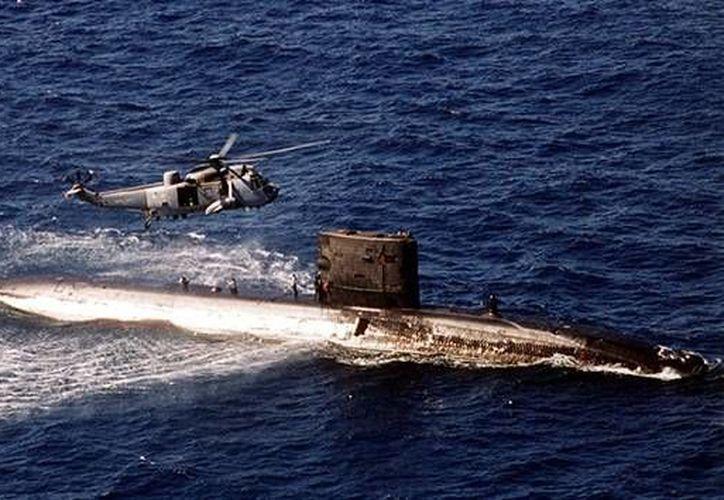 El submarino nuclear se encontraba a tres horas de Fuyaria, en los Emiratos Árabes Unidos. (Archivo/Reuters)