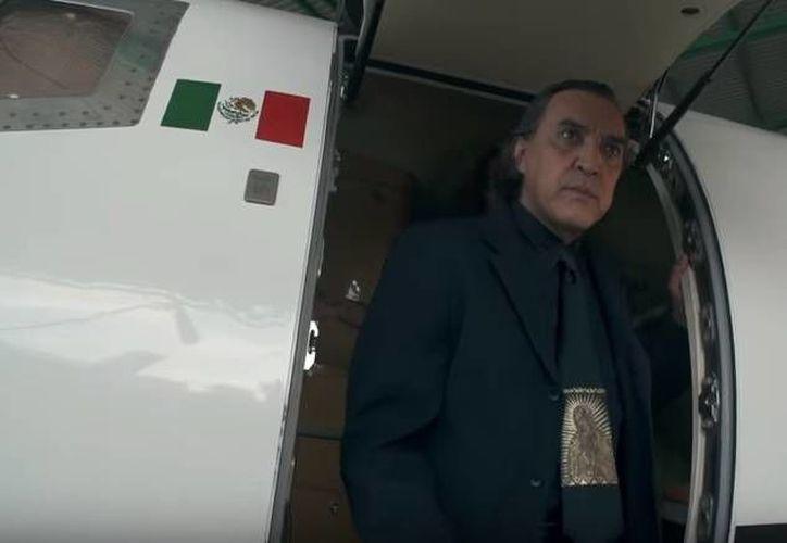Luis Felipe Tovar actuó y dirigió el videoclip de 'Nací para esto', sencillo de Miguel Galindo que ha sido censurado por algunas plataformas digitales. (Captura de pantalla del Youtube)