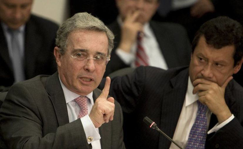 Alvaro Uribe fue presidente de Colombia de 2002 hasta 2010. (Agencias)