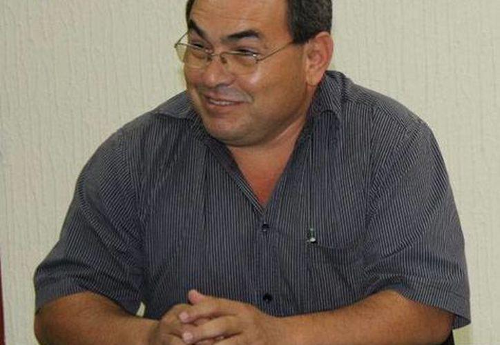 Rafael León Negrete, gerente de la Conafor Quintana Roo. (Israel Leal/SIPSE)